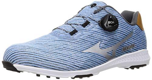 [ミズノ] ゴルフシューズ ネクスライト 008 ボア スパイクレス メンズ 3E 51GM2120 ライトブルー 27.0 cm