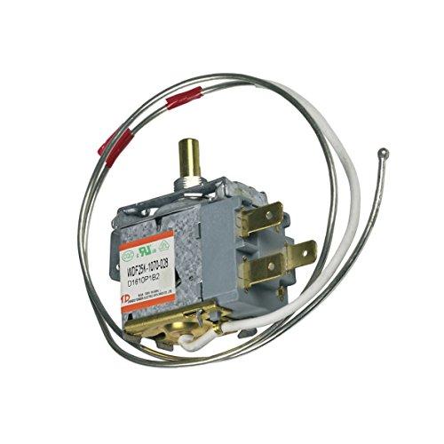 Thermostat Kühlthermostat Kühlschrank Kühlgerät Original Candy Hoover 49036121 WDF25K-1070-028 ZEROWATT 660mm Kapillarrohr 3x6,3mm AMP passend auch Ignis Whirlpool