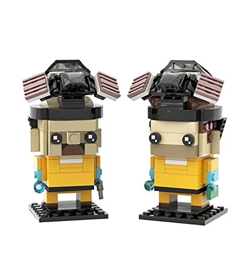 240 PCS MOC RC Coche Breaking Bad Fangtouzi Classic Building Block, Technic Puzzle Toy Super Racing RC Coche Kit, Modelo Bloques De Construcción Compatible Con LEGO, Ladrillos De Juguete Para Adulto