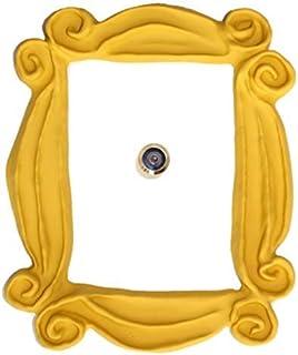 Marco de la mirilla para la puerta. Réplica artesanal para tu entrada, como la que tenían en la serie Monica y Rachel. For...