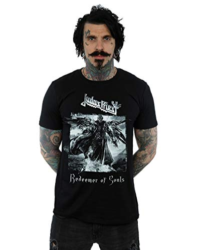 Absolute Cult Judas Priest Hombre Redeemer of Souls Camiseta Negro Small