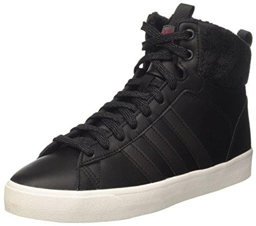 adidas Damen Cf Daily Qt WTR W Hohe Sneaker, Schwarz (Core Black/Utility Black/Mystery Ruby), 38 EU