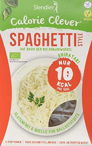 Slendier Shirataki Bio Konjak Nudeln - Spaghetti-Style , 6 x 400g