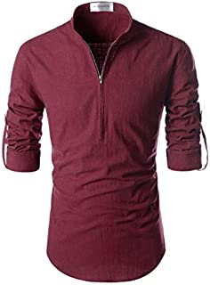 The Tajkla Rayon Round Neck Solid Designer Shirt for Men & Boys