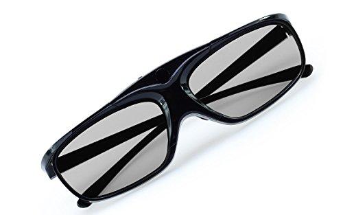 2X Hi-SHOCK® RF / BT Pro Black Heaven & Dualcase  Aktive 3D Brille für 3D TVs von Sony, Samsung   komp zu SSG-3570 CR / TDG-BT500A / AN3DG35 [ 120 Hz   Bluetooth   wiederaufladbar]