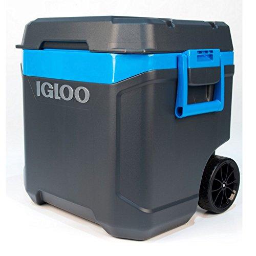 Nevera con ruedas y asa, ideal para bebidas frías, botellas o latas, para días de excursión, conciertos, festivales, playa