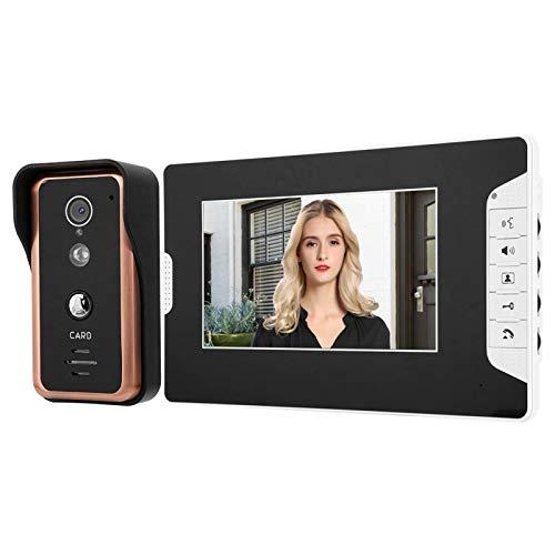 , Equipado con 7 tarjetas RFID, Un botón de interruptor, Un intercomunicador(European standard (100-240v))