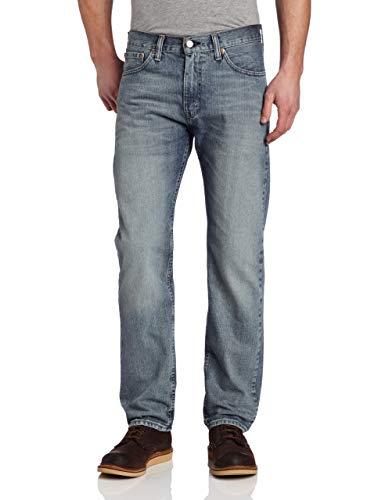 Levi's 505 Regular Fit Jeans, Gas Light, 32W / 32L Homme