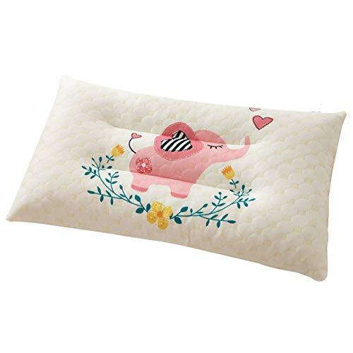 Almohada de látex Almohada para niños Almohada para bebé jardín de Infantes Dibujos Animados Escuela Primaria Estudiante Dormitorio Almohada Regalo 30 * 50 cm
