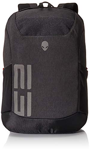 Alienware m17 Pro Gaming Laptop Backpack 15-Inch to 17-Inch, Gray/Black, (AWM17BPP)