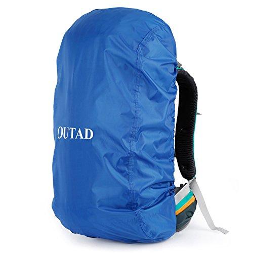 Outad Waterdichte regenhoes voor camping, wandelen, rugzak