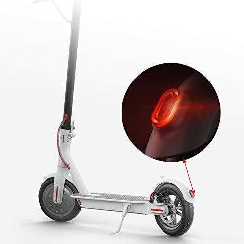 Cerlingwee Luz Trasera de Scooter eléctrico, lámpara Trasera, Scooter eléctrico Negro y Rojo Duradero Resistente a la Intemperie para Xiaomi M365 Scooter eléctrico Bicicleta eléctrica Coche eléctrico