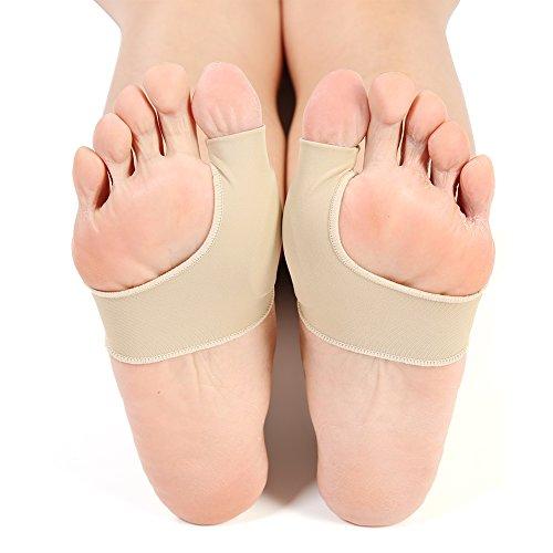 Corrector de juanetes Hallux Valgus alisador para Hombres y Mujeres, 1 par de Protectores de Dedos de Silicona para ortopédicos, Cuidado de los pies, corrección de Pulgar, Calcetines