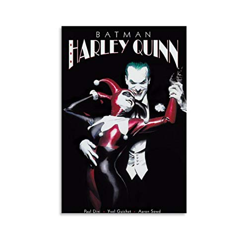 41V4w7RaXjL Harley Quinn and Batman Posters