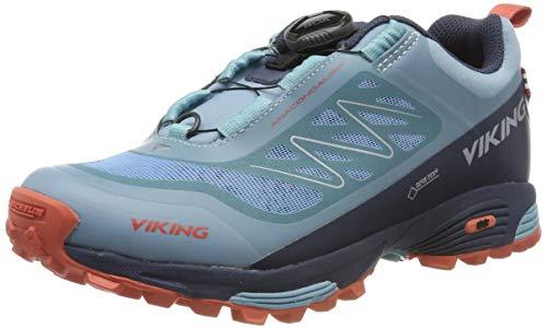 viking Unisex-Erwachsene Anaconda Light BOA GTX Trekking- & Wanderhalbschuhe, Bluegreen/Navy, 40 EU
