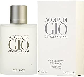 Acqua Di Gio 3.4 Fl. Oz. Eau De Toilette Spray Men by Giorgio Armani