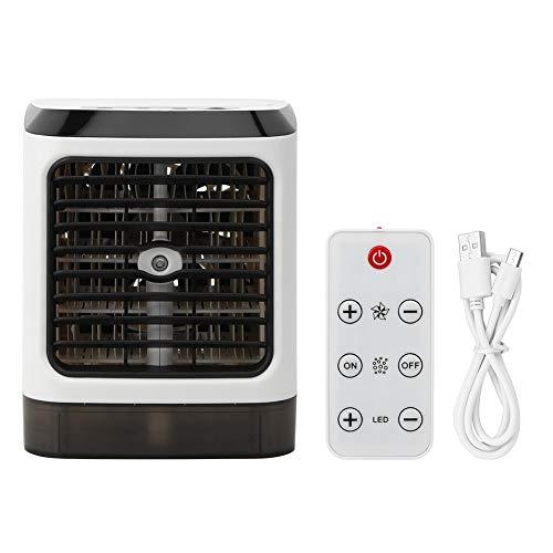 Oreilet Ventilador de refrigeración, Ventilador de Aire Acondicionado portátil, Camping para la Oficina de la Tienda en casa