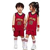 CYQQ Camiseta 23# para niños Cavaliers # 23 James, Camiseta de Ventilador de Verano Chaleco sin Mangas Traje de Ropa Deportiva(Size:S(120-130cm),Color:A2)