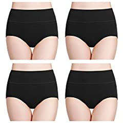 COTTON STRETCH UNDERWEAR: We just received the feedback from customers that they received low waisted underwear instead of the high waisted showed on Amazon. We are sorry for the confusion. Please OPEN THE PACKAGE TO CONFIRM since picture on the pack...