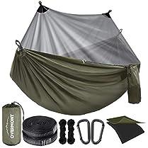 hamaca de acampada