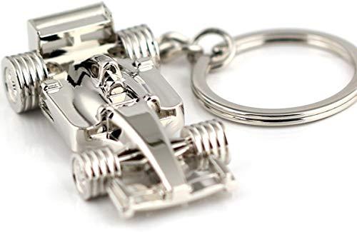 ZKZKK Llavero Creativo de Metal Carreras Coche Llavero Creativo Clásico Coche Fans Gifts Favorito Llavero 3D Llavero Anillo Key Titular de Fob