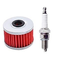 Oil filter fit for 1985-1986 ATC350Xn1993-2003 TRX300EX / Sportrax Oil filter fit for 1986-1989 TRX350 / Foreman Models,1987-1988 / 1991-1992 TRX250X Oil filter fit for 1985-1987 TRX250 Fourtrax,1985-1987 ATC250SX Oil filter fit for 1985-1987 ATC250E...
