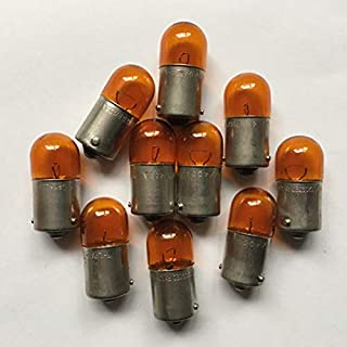 FidgetKute 10PCS Amber Color Turn Turn Signal Light Bulb for Audi VW RY10W 12093 N0177197