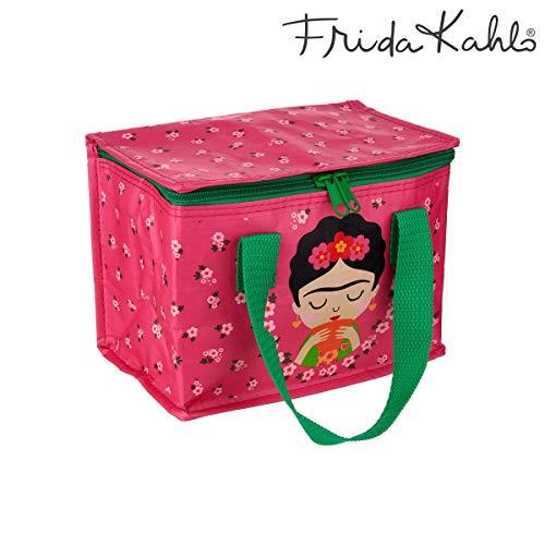 Sass & Belle Bolsa Merienda Frida Kahlo Rosa, Multicolor, Único