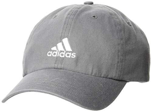 adidas Dad Cap Bos Gorra, Unisex Adulto, Gritre/Gritre/Blanco, Talla Única