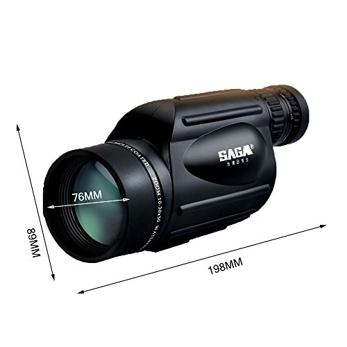 Affordable JAD@ 10-30x50 Zoom Spotting Scope Bird Watching Monocular Waterproof Telescope Spotting S...