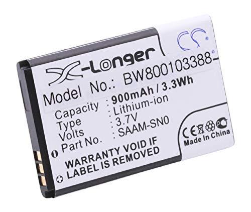 vhbw Akku passend für Vertu Ascent schnurlos Festnetz Telefon (900mAh, 3.7V, Li-Ion)