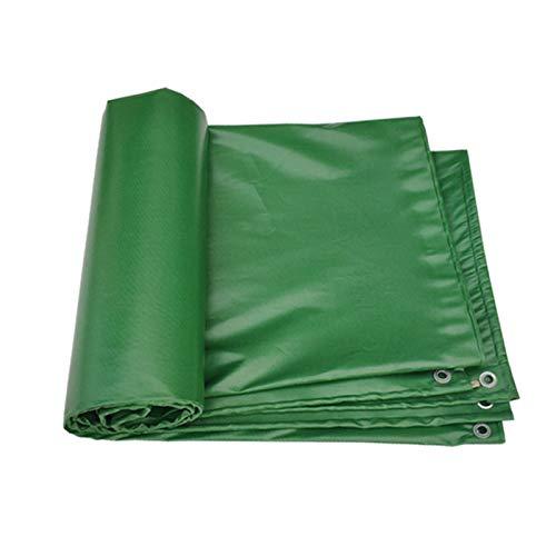 Lona Transparente Resistente A Prueba de Agua Cubierta de Lona Transparente de PVC con Ojales Paño Impermeable Plegable Resistente al Desgarro para Muebles de Jardín al Aire Libre