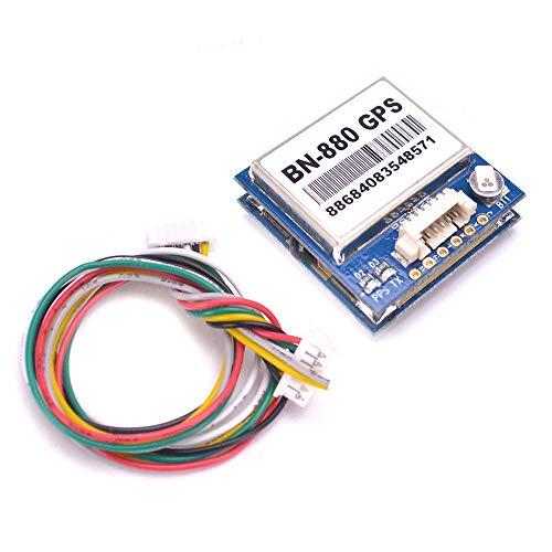 FMingNian BN-880 Flugsteuerung GPS-Modul Dual-Modulkompass mit Kabel für APM 2.6 APM2.8 / Pixhawk 2.4.7 Pixhawk 2.4.8 (Farbe : 1PCS)
