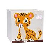 Meshela Aufbewahrungsbox für Kinderzimmer faltbarer waschbarer Cartoon Spielzeugkiste geeignet für