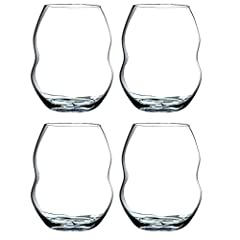 Set of four non-lead white wine glasses Non-lead crystal Holds 13-3/8-ounce; 4-inches tall Safe to use in dishwasher Designed to enhance the enjoyment of tasting fine wines