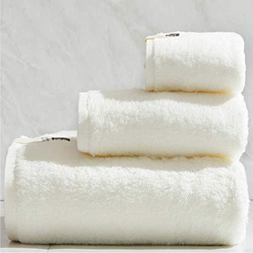 DSJDSFH badhanddoek van katoen, eenvoudige stijl, vierkant, absorberend, duurzaam, 34 x 34 cm, 34 x 74 cm, badhanddoek, 70 x 140 cm, 4 kleuren