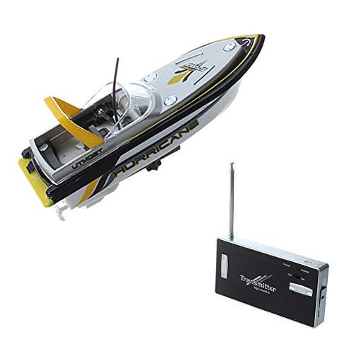 Izzya Mini RC Boot Ferngesteuerte Boote für Kinder, Motorboot Ferngesteuert High Speed Boot mit Funkfernsteuerung Batteriebetrieben Spielzeug