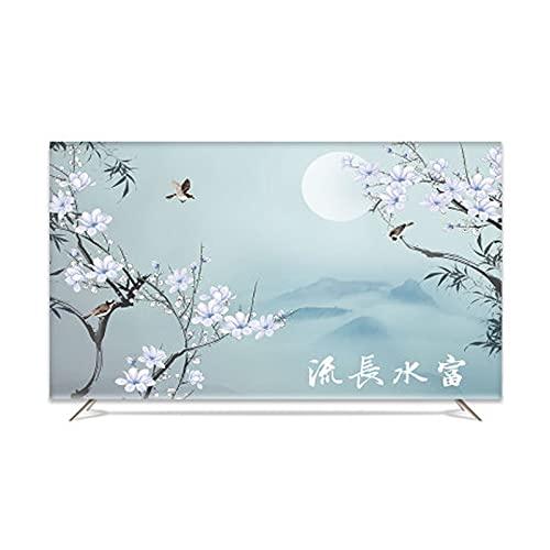 MFMYUANHAN Cubierta de la exhibición de la Cubierta de la TV del LCD Que cuelga del hogar 55 Pulgadas 60 Pulgadas TV de 58 Pulgadas Universal(Size:65in,Color:Style 1)