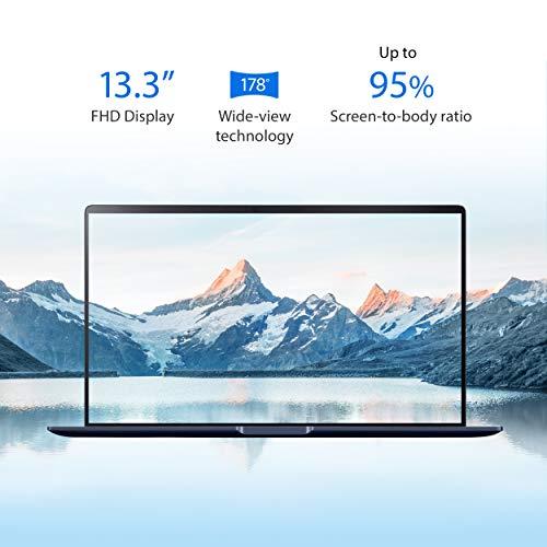 "Asus ZenBook 13 Ultra-Slim Laptop 13.3"" Full HD NanoEdge Bezel, Intel Core i7-10510U, 16GB RAM, 512GB PCIe SSD, Innovative Screenpad 2.0, Windows 10 Pro - UX334FLC-AH79, Royal Blue"