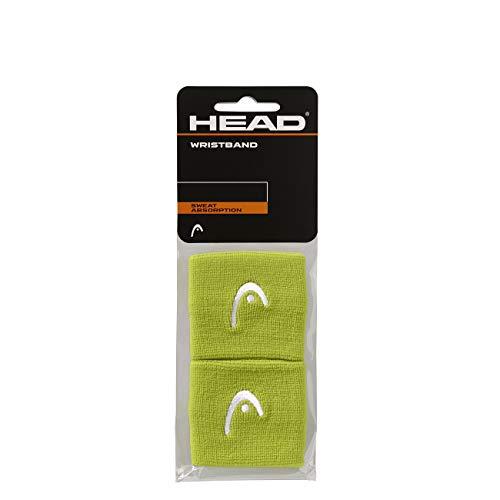 HEAD Unisex-Erwachsene 2,5 Schweißband, Lime, Einheitsgröße