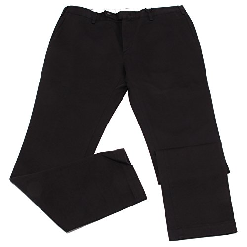MAURO GRIFONI 1990W Pantaloni uomo Black Cotton Trouser Men [54]