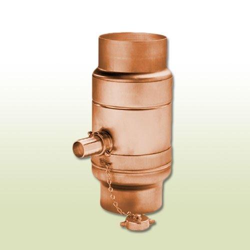 Kupfer Regenwassersammler DN 100 mit Schlauchpaket
