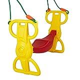 COLOR TREE Multi-Child Swing Set Back to Back Rider Glider