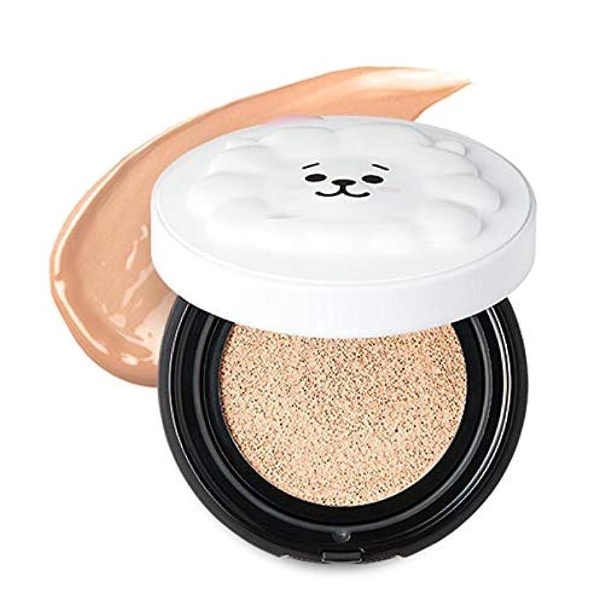 妊娠したパネルステップBT21 × VT Cosmetic リアルウェア カバー クッション / REAL WEAR COVER CUSHION (#21) [並行輸入品]