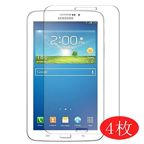Vaxson 4 Stück Schutzfolie kompatibel mit Samsung Galaxy Tab 3 T210 / p3200 / p3210 / T211 7