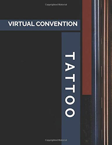 Virtual Tattoo Convention: Dot Grid Notebook for Online Trainings, Webinars, Video Conferences and Live Streams to Jot Down Notes and Draw Designs