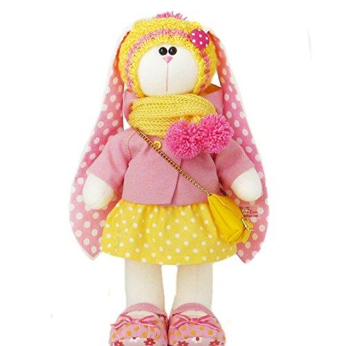 Easter bunny doll 14.5 inch, handmade by ZuzuHappyToys
