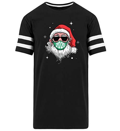Mascarilla de Navidad 2020 regalo – Striped Long Shirt Negro XL