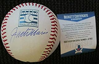Jack Morris Detroit Tigers Autographed Signed Memorabilia Oml HOF Baseball Beckett COAj07952
