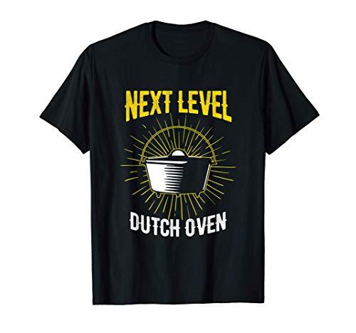 Next Level Dutch Oven Chef-Koch Cowboy Style BBQ T-Shirt